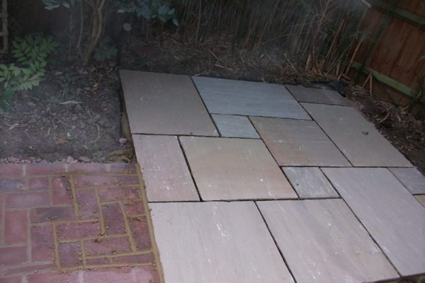 Liberty Drives - Indian Sandstone Patio